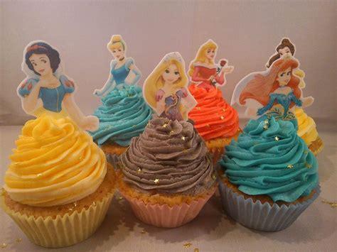 Topper Cake Topper Cupcake Disney Princess 12 x disney princess half stand up precut edible