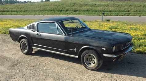 Barn Roofs by Rusting Horse 1966 Mustang Fastback