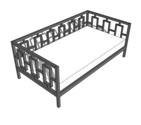 free daybed plans woodwork city free woodworking plans diy daybed from twin headboards wooden global