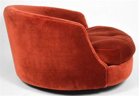 Milo Baughman Swivel Tub Chair Image 4 Tub Swivel Chair