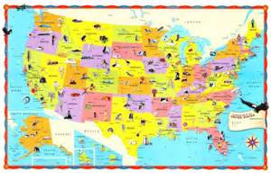 United States Map For Kids by Map Of The United States For Kids Map Holiday Travel