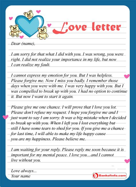 Apology Letter To Boyfriend For Hurting Him apology letter levelings