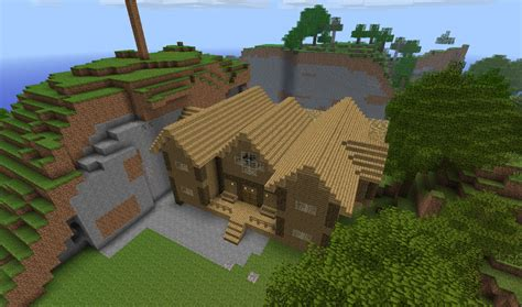 minecraft wooden house design 1st wood house minecraft project