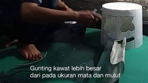 youtube membuat topeng cara membuat topeng marshmello indonesia mask