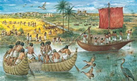 ancient egypt boats and transportation trade and transport year 7 history ancient egypt