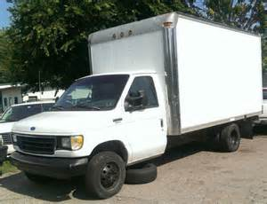 airbag deployment 1993 ford e series engine control 93 ford e350 35c box truck cutaway van 14 roll up dually 460 gas a t no reserve for sale