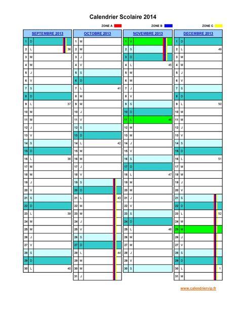 Calendrier 2014 Excel Calendrier Scolaire 2016 2017 Excel Gratuit 2017 2018 Best