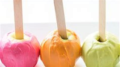colored apple neon colored apples recipe from tablespoon