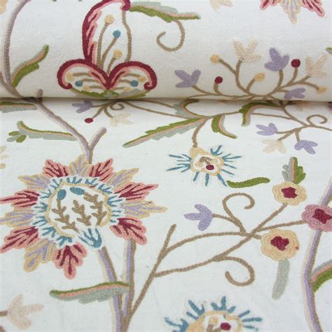 embroidered fabrics a traditional wool embroidered fabric