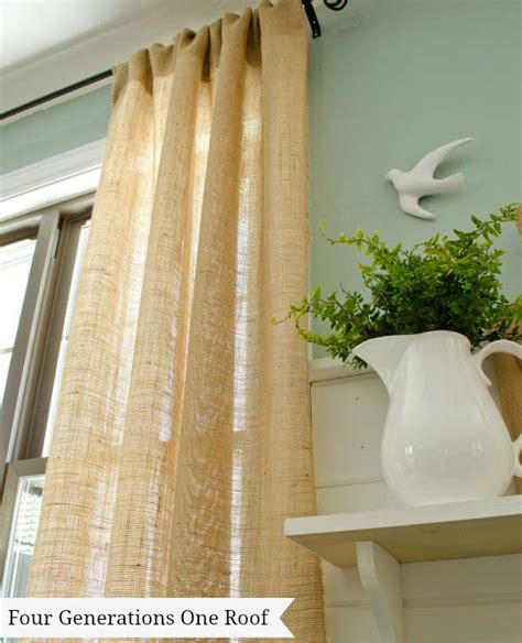 diy no sew curtains no sew curtain