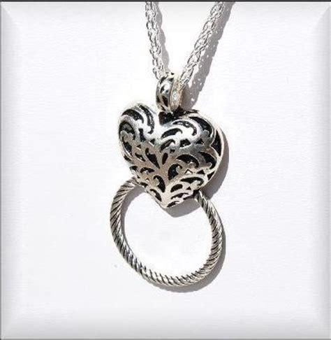 brighton inspired lanyard elegant etched heart lan 126