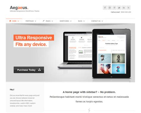 aegaeus wordpress professional template themeshaker com