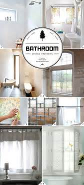 light and privacy ideas for bathroom window treatments