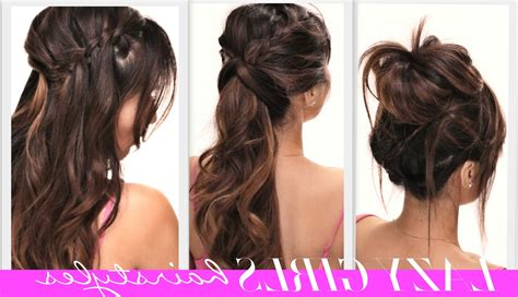 easy hairstyles for school trip hairstyles for hair for 4 easy lazy back
