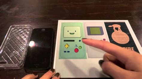 How To Make A Paper Touch Screen Phone - diy make your own geeky iphone 5