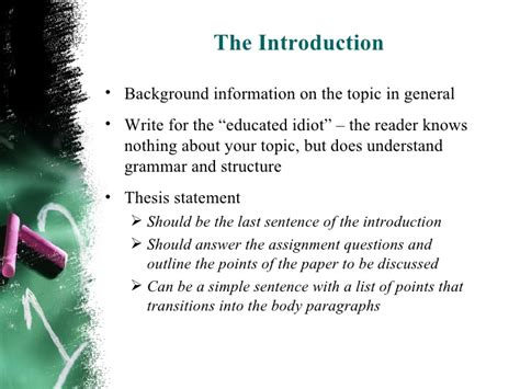 how to write a background paper how to start a personal background essay