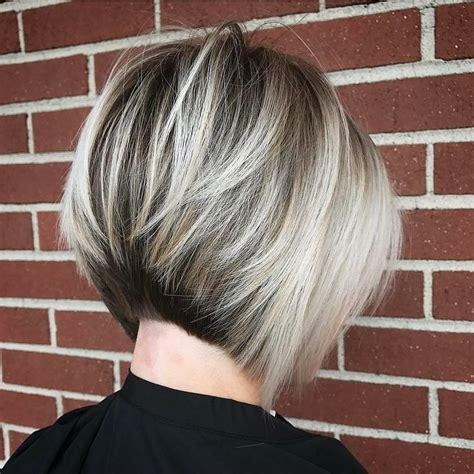 layered bob hairstyles  fab   blonde shades