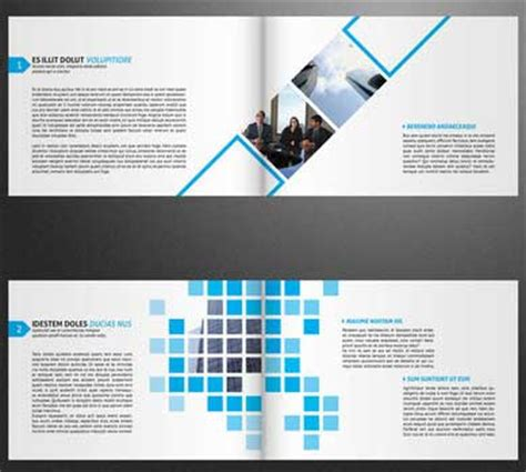 page layout a5 booklet creative psd brochure templates free download sai