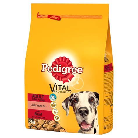 pedigree large breed puppy food buy pedigree large breed food 3kg