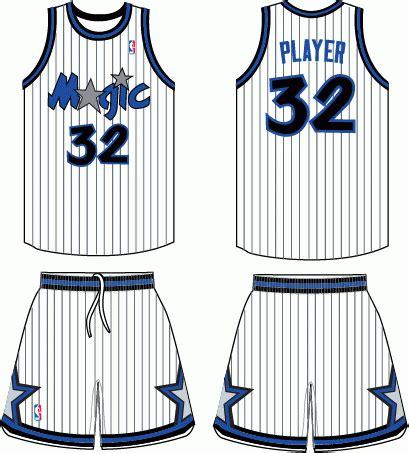 orlando magic home uniform national basketball