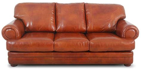 orange leather couch orange leather sofa roselawnlutheran