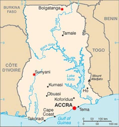 5 themes of geography ghana ghana latitude longitude absolute and relative locations