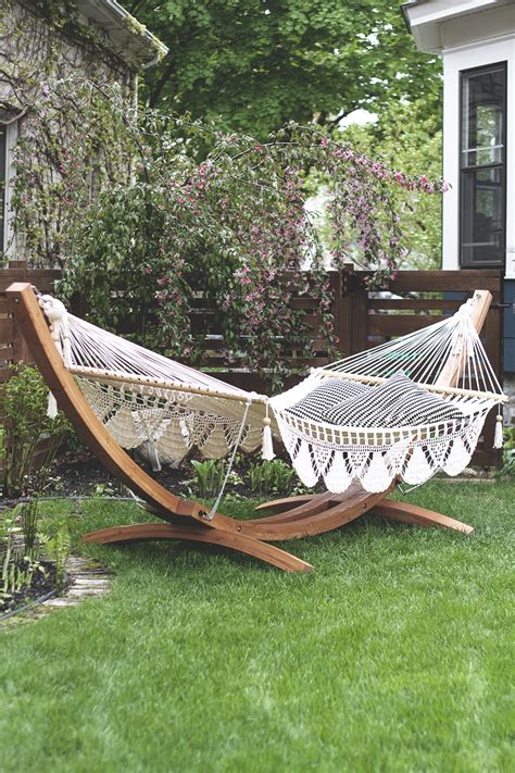 backyard hammock stand backyard hammock