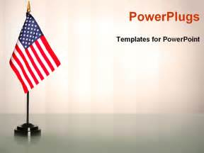 Government Powerpoint Templates by Usa Flag In A American Government Office Powerpoint