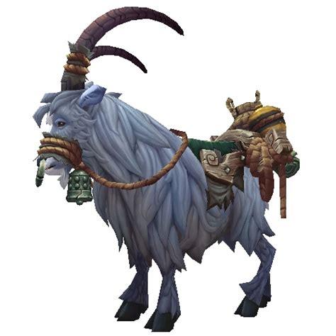 Blue Goat warcraft mounts blue goat