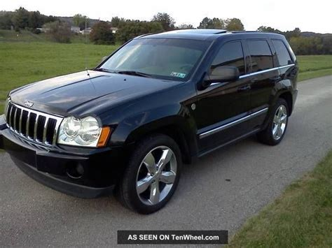 2005 jeep grand srt8 specs 2005 jeep grand limited srt8 clone 5 7l hemi