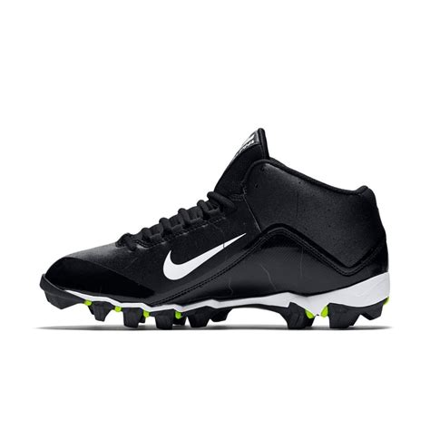 football shoes wide nike alpha shark 2 wide 3 4 football cleats for black