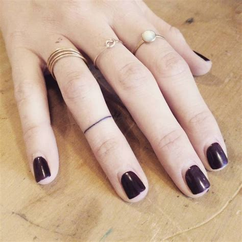 question mark tattoo on finger 23 best stick and poke minimalist tattoos images on