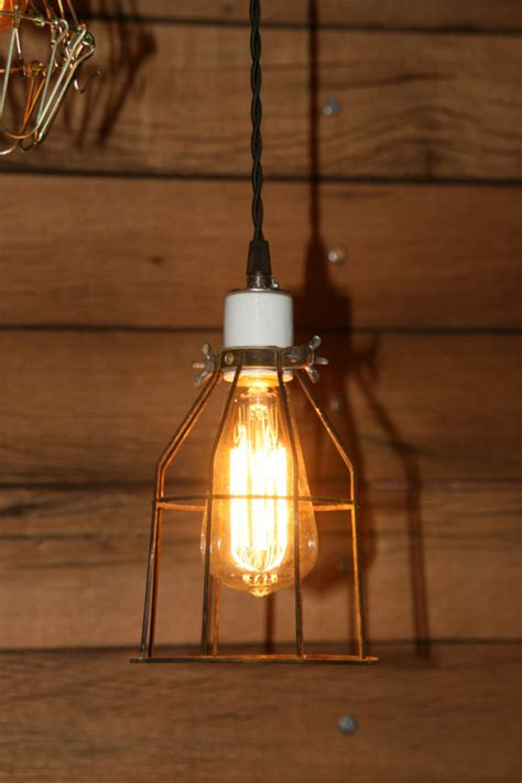 Industrial Hanging Pendant Light Swag Light With Vintage Swag Lights