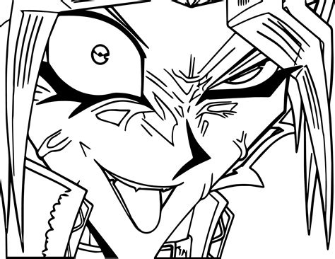 yu gi oh coloring pages yu gi oh yugioh character coloring page