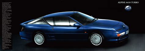 renault alpine a610 image gallery 1992 renault a610