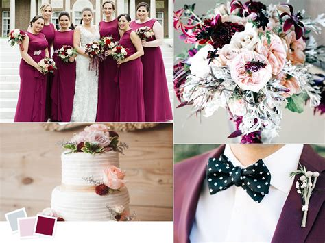wedding by color 12 fall wedding color combos to