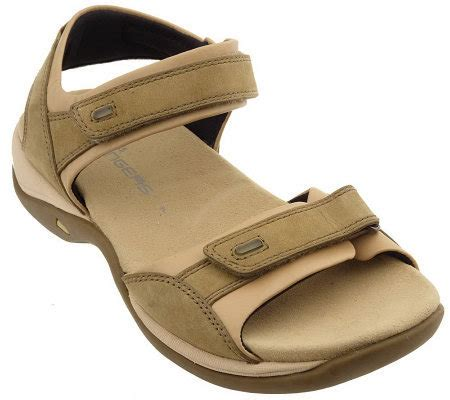 clarks comfort sandals clarks leather nubuck comfort sandals with