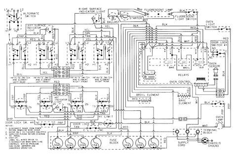 gas stove wiring diagrams wiring diagrams