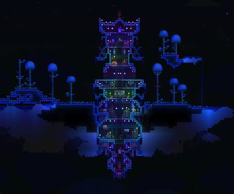 House Schematics My Wizard Tower Terraria