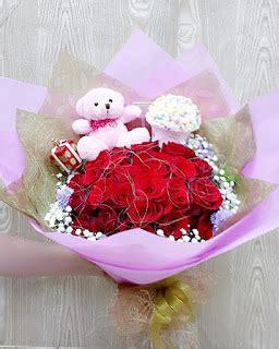 Buket Boneka Rilakkuma Folwer For You Pink bouquet boneka dan coklat toko bunga florist