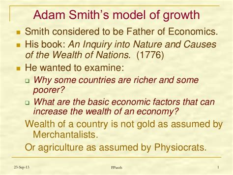 energy and the wealth of nations an introduction to biophysical economics books brief review of adam smith s concepts of growth