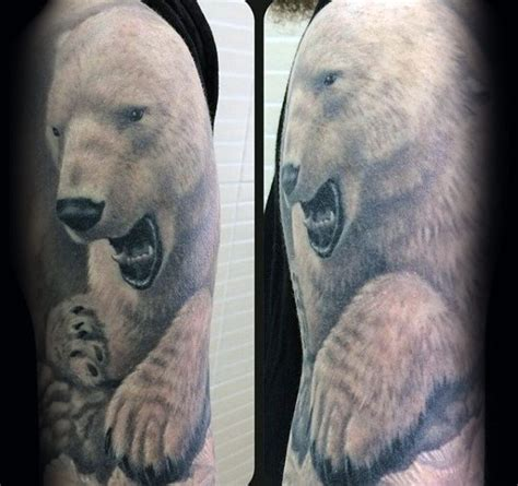 polar bear tattoo designs 60 polar designs for arctic ink ideas