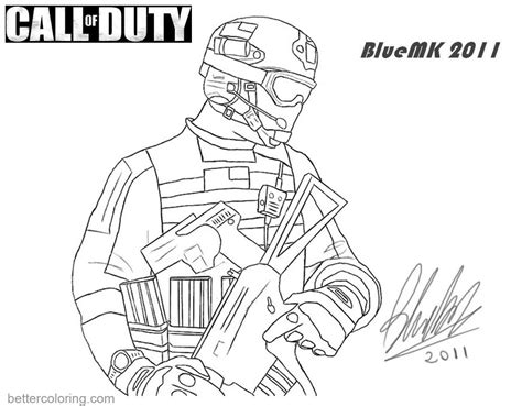 call of duty coloring pages call of duty coloring pages mw3 by bluemk free