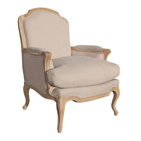 armchair french villeneuve oak french sofa chair contemporary oak