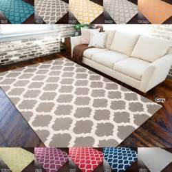 5 X 7 Area Rugs Under 100 Hand Woven Contemporary Moroccan Trellis Geometric