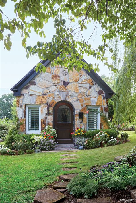 home cottage garden of small delights