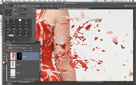 photoshop pattern brush tutorial photoshop scatter effect tutorial download our free