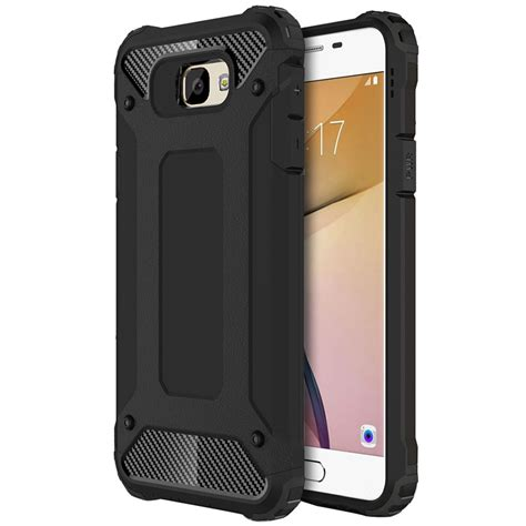 Samsung Galaxy J5 J5 2015 Heavy Duty Defender Armor Soft Cover defender shockproof samsung galaxy j5 prime black