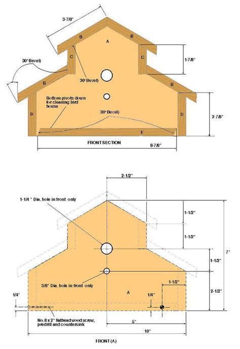 wren house plans pdf birdhouse plans beginners pdf woodworking