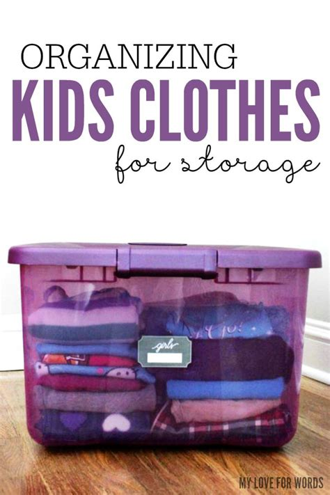 kids clothing storage organizing kids clothes for storage